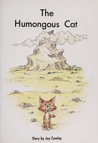 The humongous cat by Joy Cowley