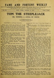 Cover of: Tom the steeple jack, or, Winning a living by nerve, and other stories |