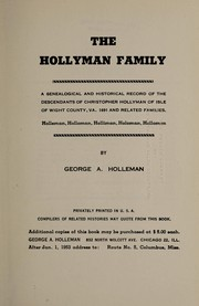 Cover of: The Hollyman family