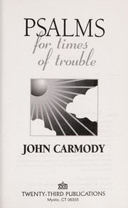 Cover of: Psalms for times of trouble