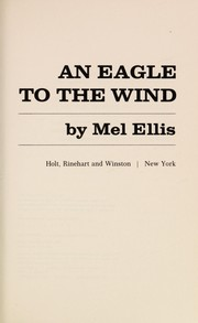 Cover of: An eagle to the wind