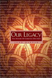Cover of: Our Legacy