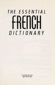 Cover of: The Essential French Dictionary | Chancellor Press
