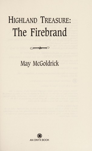 The firebrand by May McGoldrick