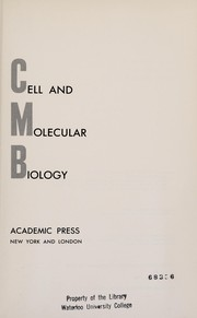 Cover of: Cell and molecular biology | Ernest J. DuPraw