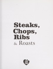 Cover of: Steaks, chops, ribs & roast (pbk) |