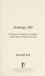 Cover of: Strategy 360