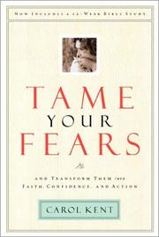Cover of: Tame Your Fears