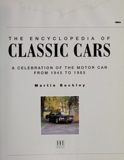 Cover of: Classic cars | Martin Buckley