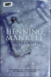 Cover of: When the snow fell