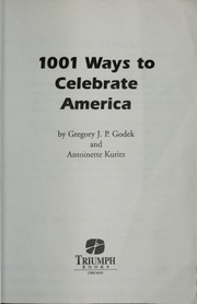 Cover of: 1001 Ways to Celebrate America