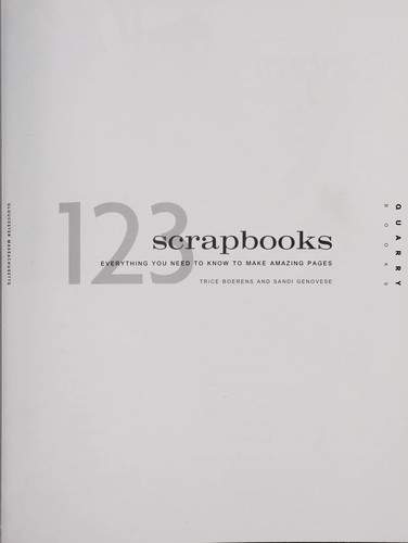 123 scrapbooks by Trice Boerens