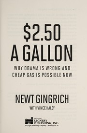 Cover of: $2.50 a gallon