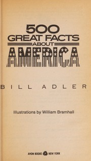 Cover of: 500 great facts about America