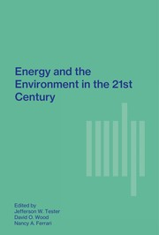 Cover of: Energy and the environment in the 21st century | edited byJefferson W. Tester, David O. Wood, Nancy A. Ferrari, with János M. Beér ... [et al.]