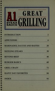 Cover of: A1 Steak Sauce Great Grilling A.1. Nabisco, Inc. (Favorite All Time recipes, How Grilling Is Done)