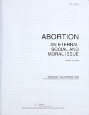 Cover of: Abortion (Information Plus Reference Series) |