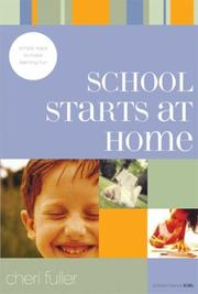 Cover of: School Starts at Home | Cheri Fuller