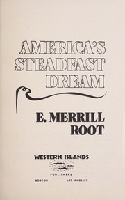 Cover of: America's Steadfast Dream