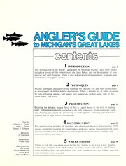 Cover of: Angler's Guide to Michigan's Great Lakes