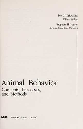 animal behavior drickamer