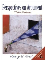 Cover of: Perspectives on Argument with APA Guidelines (3rd Edition) | Nancy V. Wood
