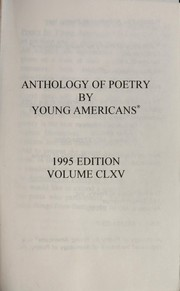 Cover of: Anthology of poetry by young Americans : volume 128