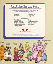 Cover of: Anything in the Soup (The World of Teddy Ruxpin)
