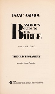 Cover of: Asimov s Guide to the Bible