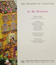 Cover of: At my window (HBJ treasury of literature) | Roger C. Farr