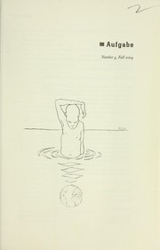 Cover of: Aufgabe #4