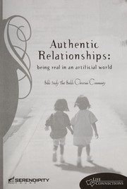 Cover of: Authentic Relationships