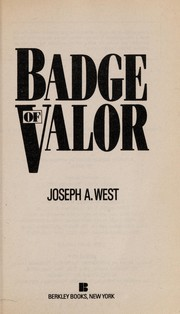Cover of: Badge of valor