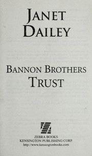 Cover of: Bannon brothers | Janet Dailey