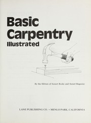Cover of: Basic Carpentry Illustrated