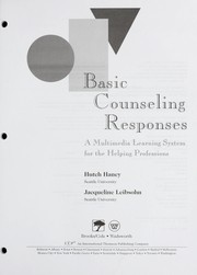Cover of: Basic Counseling Responses | Hutch Haney