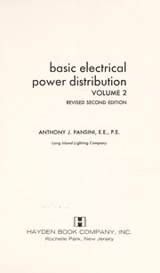 Cover of: Basic electrical power distribution