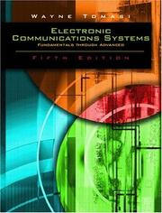 Cover of: Advanced Electronic Communications Systems