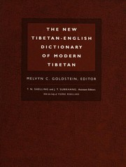 Cover of: The new Tibetan-English dictionary of modern Tibetan |