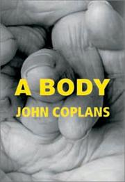 Cover of: A body