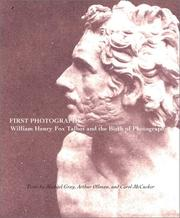 Cover of: First photographs