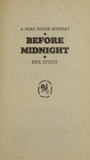 Cover of: Before Midnight