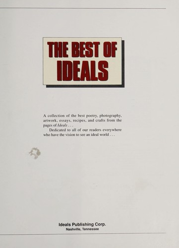 The Best of Ideals by