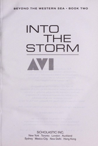 Into the storm by Avi