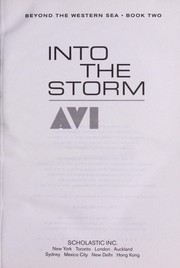 Cover of: Into the storm | Avi