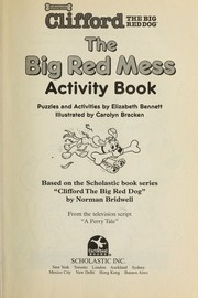 Cover of: The Big Red Mess Activity