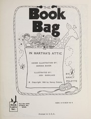 Cover of: The Book Bag in Martha's Attic (Activities Book K-3) | N. Pollette
