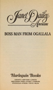Cover of: Nebraska: boss man from Ogallala | Janet Dailey