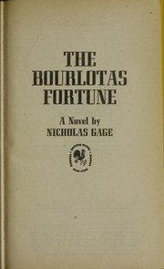 Cover of: The Bourlotas Fortune |