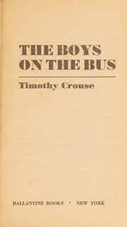 Cover of: The Boys on the Bus | Timothy Crouse